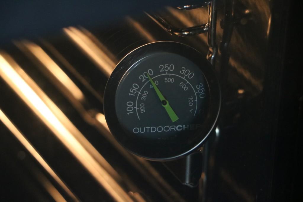 Weber Elektrogrill Mit Temperaturanzeige : Weber thermometer nachrüsten
